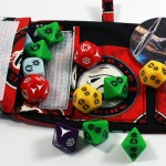Full Destructive Force TARU loaded with dice and tokens