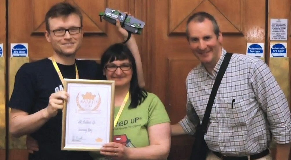 UK Games Expo 2014 Award Winner