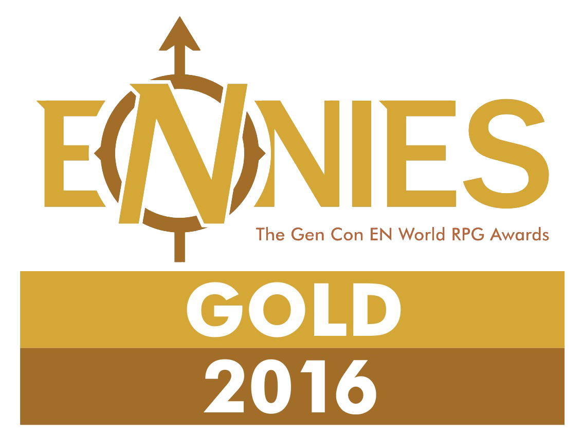 Ennies Gold Award for Best Aid or Accessory